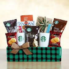 coffee gift baskets starbucks evergreen coffee gift basket california delicious