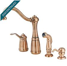copper faucets kitchen antique copper marielle 1 handle kitchen faucet gt26 4nrr