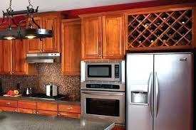 built in wine rack in kitchen cabinets u2013 monsoonvt com