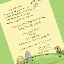 Gift Card Shower Invitation Sample Baby Shower Invitations Invitation Ideas