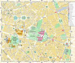 belgium city map brussels map detailed town map of brussels belgium