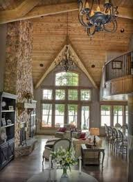 Rustic Home Interiors This Is A Little More My Style Lots Of Wood Texture Color