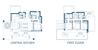 Pino 4 La Finca De Marbella Centralized Kitchen Floor Plans