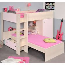 Bunk Beds With Wardrobe Prismo Pink Bunk Bed Cmbk608fpk Furniture Of Bunk
