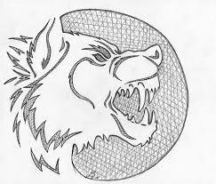 lineart and templates on werewolvesatheart deviantart