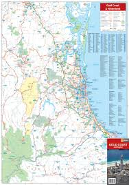 coast map gold coast region map hema maps