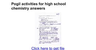 cracking the periodic table code pogil pogil activities for high chemistry answers google docs