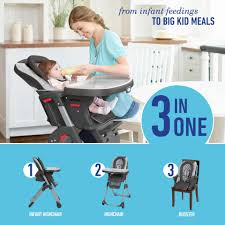 Graco Doll Swing High Chair Graco Duodiner Dlx 3 In 1 Convertible High Chair With Washable