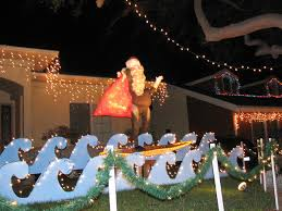 Christmas Outdoors Decorations by Beach Christmas Lawn Decorations Legendary Christmas Ideas