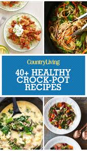 50 healthy crock pot recipes easy light slow cooker dinner ideas
