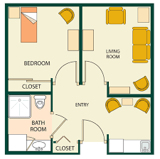 small one bedroom house plans floor plans rates with small one bedroom apartment floor plans