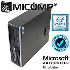 pc bureau intel i3 desktop computers i5 ebay