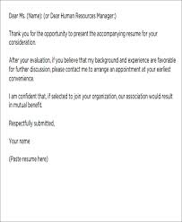 cover letter email cover letter template business