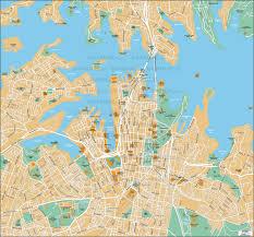 City Maps Geoatlas City Maps Sydney Map City Illustrator Fully
