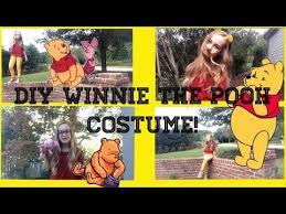 diy winnie the pooh halloween costume youtube