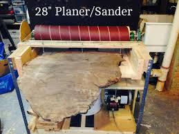 Diy Bench Sander Making A 28 Inch Wide Sander Planer 13 Steps With Pictures