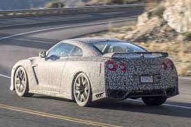 gtr nissan 2018 2017 nissan gt r first spy shots gtspirit