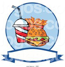 food vector royalty free fast food vector logo by hit toon 989