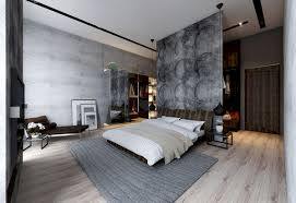 Concrete Wall Designs  Striking Bedrooms That Use Concrete - Home interior wall design 2