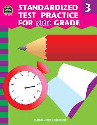 standardized test practice for 3rd grade charles j shields
