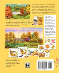god blesses us with thanksgiving christian children s books a