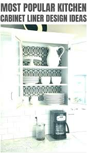 kitchen cabinet lining ideas designing your kitchen cabinet liner ideas
