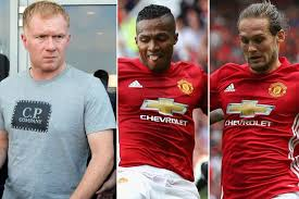 Blind Stupid And Desperate Paul Scholes Slams Daley Blind And Antonio Valencia For Their