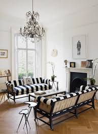 Striped Sofas Living Room Furniture Black And White Striped Sofa Living Room Wingsberthouse Black