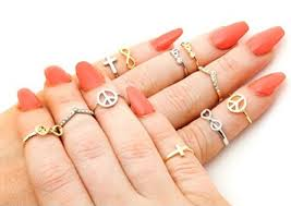 top finger rings images Go bling with multiple rings wear multiple rings trendy png