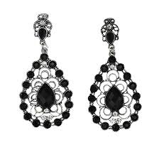 black chandelier earrings cheap large black chandelier earrings find large black chandelier