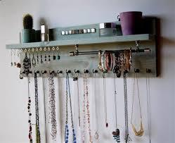 necklace storage display images 11 diy necklace storage ideas necklace organizer ideas paulsand jpg