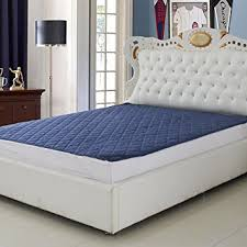 double bed buy signature mattress protector blue double bed waterproof and dust