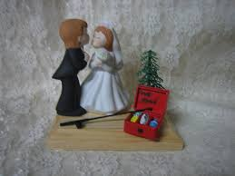 redneck home theater amazon com humorous redneck wedding fishing cake topper kitchen