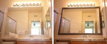 Bathroom Mirror Frame Kits Frame Kits For Bathroom Mirrors Complete Ideas Exle