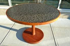 ceramic tile table top how to tile a table mosaic tile table ceramic tile table diy fin