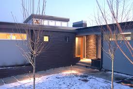 new mid century modern exterior lighting