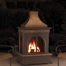 Outdoor Gas Torch Lighting Sunjoy Hardy Slate Steel Wood Burning Outdoor Fireplace U0026 Reviews