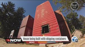 house being built with shipping containers youtube