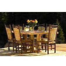 Log Dining Room Tables Rustic Dining Tables