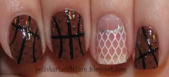 delight in nails go cavs game 5 nailart basketball nails fiba