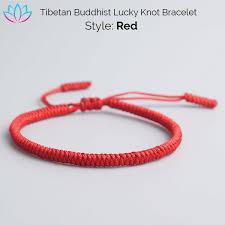 bracelet knot images Handmade tibetan buddhist lucky knot bracelets reclaiming zen png