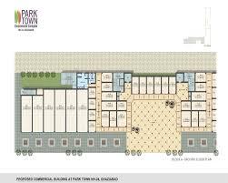 commercial complex floor plan aditya park town nh24 aditya commercial project nh24