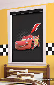 rev up your room with these lightning mcqueen shades from