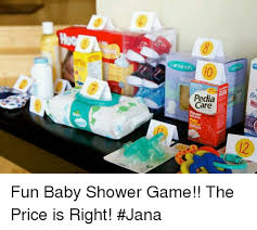 care baby shower pedia care baby shower the price is right meme
