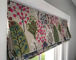 How To Measure Fabric For Roman Blinds Linen Roman Shades Etsy