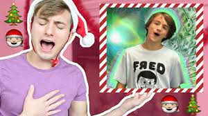 attempting to sing fred christmas music youtube