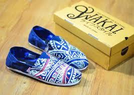 Sepatu Wakai sepatu wakai biru 200 ribu olyn fashion store