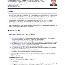 pdf of resume format unique cv resume format pdf resume cv exle pdf curriculum vitae