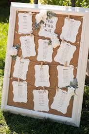 wedding table assignment board wedding tools your guide to planning wedding seating cork boards