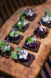 goats cheese canape recipes it s celebration season you need a great canapé recipe balsamic
